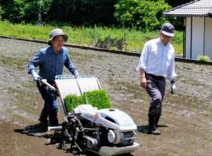 2018年5月25日田植え体験P