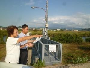 鳥取千代川豪雨調査2018年8月28日