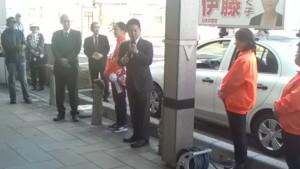 鳥取市議選支援告示日11月11日A