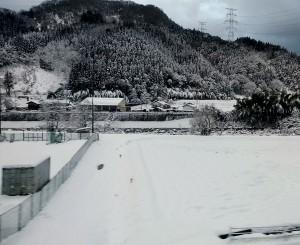 米子・境港雪景色2019年1月26日