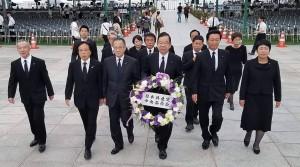 2019年8月6日広島慰霊祭E