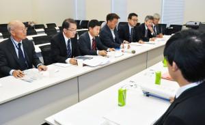 山口県政府交渉