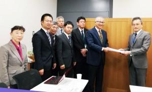 島根県政府交渉