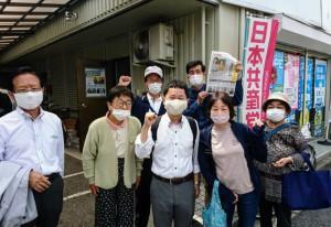 広島西地区で宣伝5月30日S