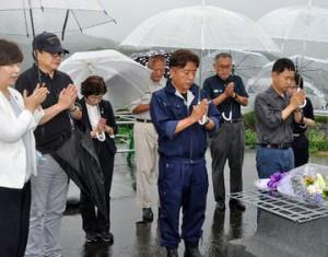 真備町災害から2年目7月7日8