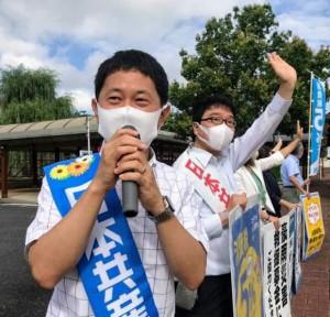 7月17日いっせい宣伝鳥取KgBg