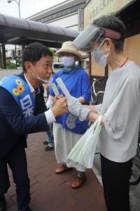 倉敷街頭宣伝9月20日Ox