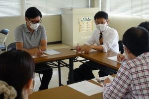 若者とおしゃべりと宣伝福山10月11日XJ