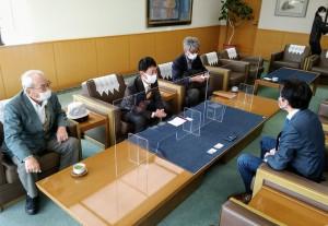 井原市長と懇談11月13日tz