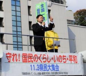 広島県民集会11月3日95