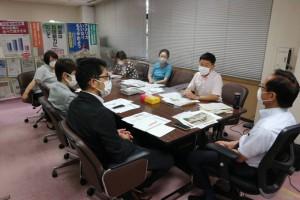 災害広島申し入れ8月16日nT